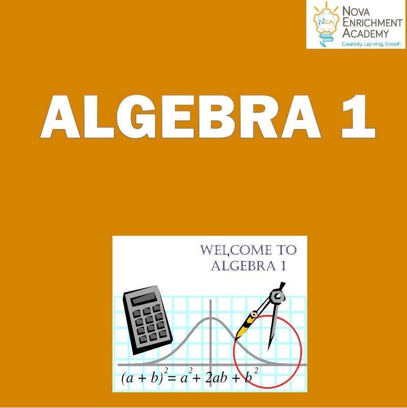 ALGEBRA 1 - Full Course (Oct 1- Feb 25)