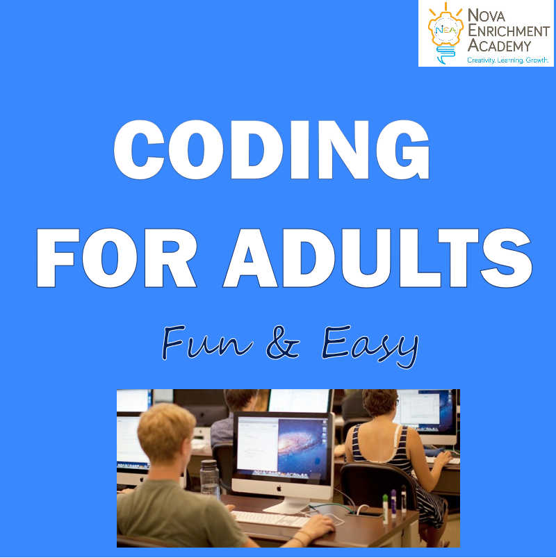 Coding for Adults Level 1 - 8 wk/32hr Course