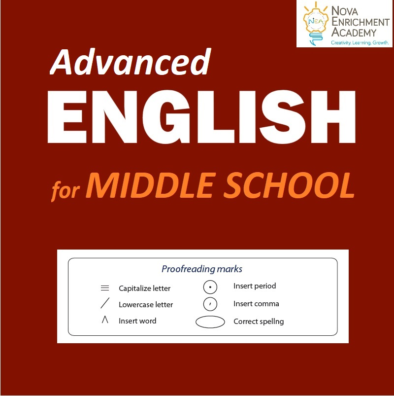 English 7/8 for Middle School (Oct 4 - Feb 25)