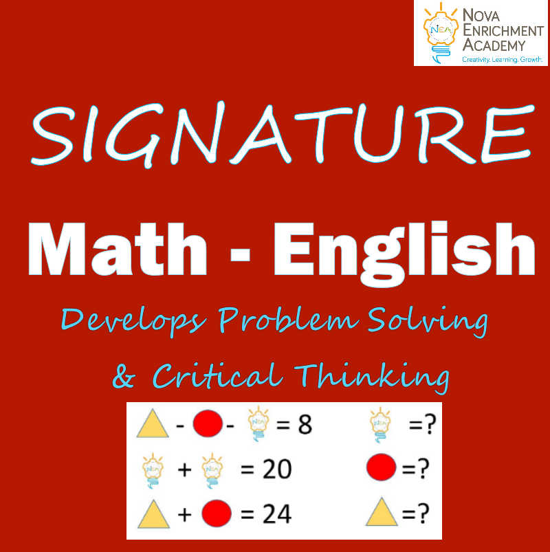 Signature Math & English Course (Grade 1-7)